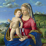 Part 3 National Gallery UK - Giovanni Battista Cima da Conegliano - The Virgin and Child