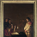 Part 3 National Gallery UK - Gerrit van Honthorst - Christ before the High Priest