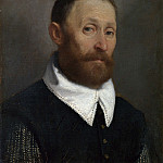 Giovanni Battista Moroni – Portrait of a Man with Raised Eyebrows, Part 3 National Gallery UK