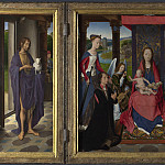 Hans Memling – The Donne Triptych, Part 3 National Gallery UK