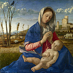 Giovanni Bellini – Madonna of the Meadow, Part 3 National Gallery UK
