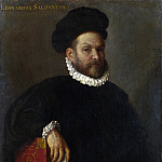 Giovanni Battista Moroni – Portrait of Leonardo Salvagno, Part 3 National Gallery UK