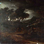 Gaspard Dughet – Landscape with a Storm, Part 3 National Gallery UK