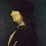 A Man in Profile, Giovanni Antonio Boltraffio
