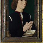 A Young Man at Prayer, Hans Memling