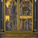 Part 3 National Gallery UK - Giusto de Menabuoi - The Coronation of the Virgin, and Other Scenes