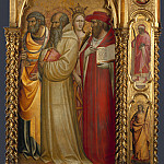 Giovanni dal Ponte – Saints Peter, Romuald, Catherine and Jerome, Part 3 National Gallery UK