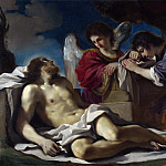Guercino – The Dead Christ mourned by Two Angels, Part 3 National Gallery UK