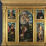 Girolamo Romanino – High Altarpiece, S. Alessandro, Brescia, Part 3 National Gallery UK