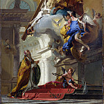 Giovanni Battista Tiepolo – A Vision of the Trinity, Part 3 National Gallery UK