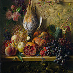 Georgius Jacobus Johannes van Os – Fruit, Flowers and Game, Part 3 National Gallery UK
