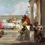 Giovanni Battista Tiepolo – The Banquet of Cleopatra, Part 3 National Gallery UK