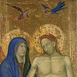 Italian, Florentine – The Dead Christ and the Virgin, Part 3 National Gallery UK