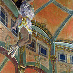 Hilaire Germain-Edgar Degas – Miss La La at the Cirque Fernando, Part 3 National Gallery UK