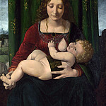 Part 3 National Gallery UK - Giovanni Antonio Boltraffio - The Virgin and Child