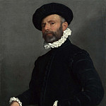 Giovanni Battista Moroni – Portrait of a Man holding a Letter , Part 3 National Gallery UK