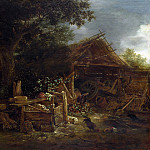 Part 3 National Gallery UK - Isack van Ostade - A Farmyard