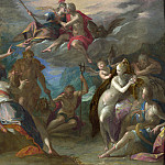 Part 3 National Gallery UK - Hans von Aachen - The Amazement of the Gods
