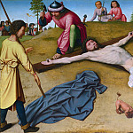 Gerard David – Christ Nailed to the Cross, Part 3 National Gallery UK