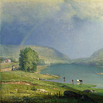 Part 3 National Gallery UK - George Inness - The Delaware Water Gap