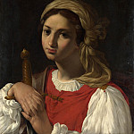 Italian – A Female Figure resting on a Sword, Part 3 National Gallery UK