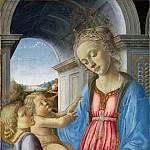 Part 3 National Gallery UK - Imitator of Fra Filippo Lippi - The Virgin and Child with an Angel