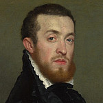 Giovanni Battista Moroni – Bust Portrait of a Young Man with an Inscription, Part 3 National Gallery UK