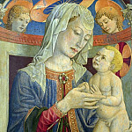 Giovanni Francesco da Rimini – The Virgin and Child with Two Angels, Part 3 National Gallery UK