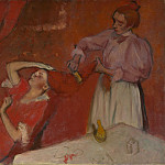 Hilaire Germain-Edgar Degas – Combing the Hair , Part 3 National Gallery UK