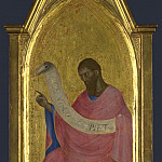 Part 3 National Gallery UK - Giovanni da Milano - Saint John the Baptist - Right Pinnacle Panel