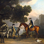 George Stubbs – The Milbanke and Melbourne Families, Part 3 National Gallery UK