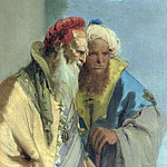 Giovanni Battista Tiepolo – Two Men in Oriental Costume, Part 3 National Gallery UK