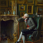Henri-Pierre Danloux – The Baron de Besenval in his Salon de Compagnie, Part 3 National Gallery UK