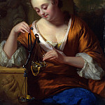 Part 3 National Gallery UK - Godfried Schalcken - Allegory of Virtue and Riches