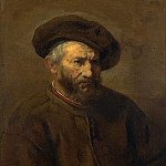 Imitator of Rembrandt – A Study of an Elderly Man in a Cap, Part 3 National Gallery UK