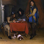 Gerard ter Borch – An Officer dictating a Letter, Part 3 National Gallery UK