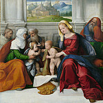 Garofalo – The Holy Family with Saints, Part 3 National Gallery UK