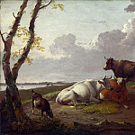Heinrich Wilhelm Schweickhardt – Cattle, Part 3 National Gallery UK