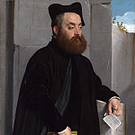 Giovanni Battista Moroni – Canon Ludovico di Terzi, Part 3 National Gallery UK
