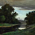 Part 3 National Gallery UK - Imitator of Gustave Courbet - Landscape