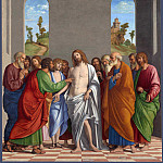 Giovanni Battista Cima da Conegliano – The Incredulity of Saint Thomas, Part 3 National Gallery UK