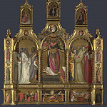 Giovanni dal Ponte – Ascension of John the Evangelist Altarpiece, Part 3 National Gallery UK