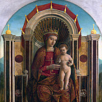 Gentile Bellini – The Virgin and Child Enthroned, Part 3 National Gallery UK