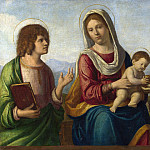 Giovanni Battista Cima da Conegliano – The Virgin and Child with Saints, Part 3 National Gallery UK