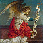 Gaudenzio Ferrari – The Annunciation – The Angel Gabriel, Part 3 National Gallery UK