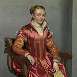 Part 3 National Gallery UK - Giovanni Battista Moroni - Portrait of a Lady (La Dama in Rosso)