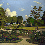 Henri-Joseph Harpignies – The Painters Garden at Saint-Prive, Part 3 National Gallery UK