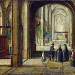 Hendrick van Steenwyck the Younger – The Interior of a Gothic Church looking East, Part 3 National Gallery UK