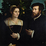 Italian – A Man and his Wife, Part 3 National Gallery UK