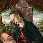 Giovanni Santi – The Virgin and Child, Part 3 National Gallery UK